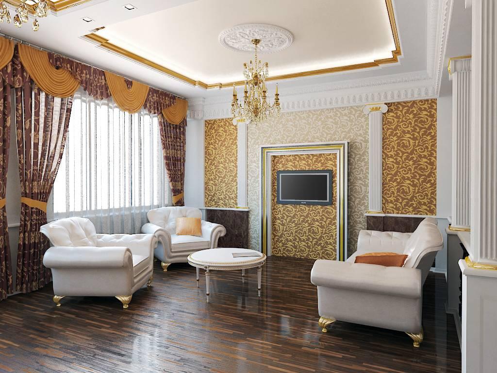 Современное видение дизайна потолков
