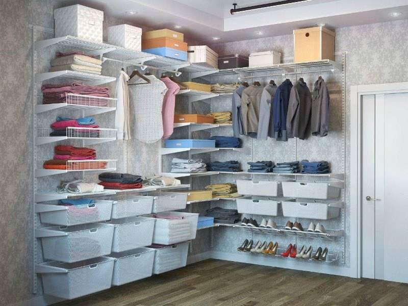 Системы хранения вещей для гардеробной – необходимость или роскошь?