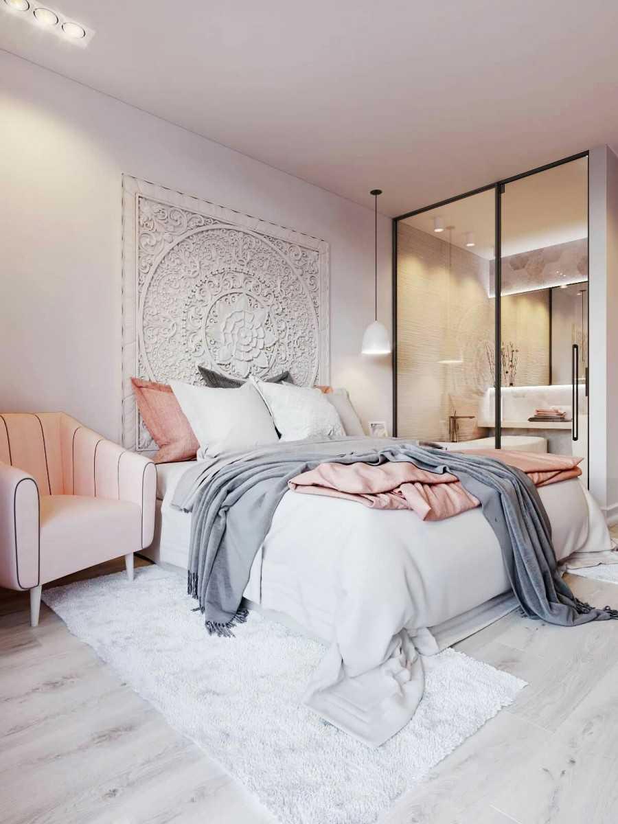 Дизайн белой спальни: выбор мебели и стиля