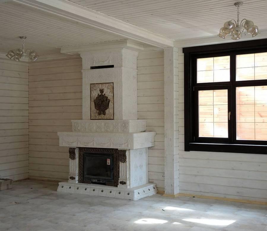 Облицовка и отделка печи в доме своими руками (в том числе керамической плиткой), инструкции с фото и видео