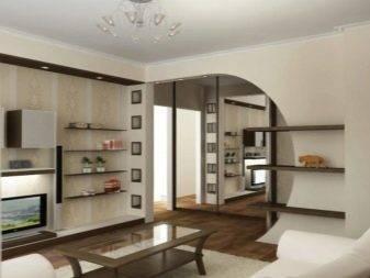 47 фото-вариантов оригинального дизайна однокомнатной квартиры-хрущевки 30 кв. м