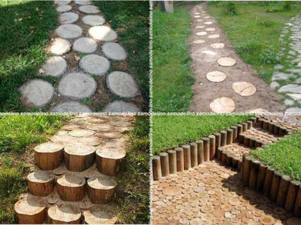 Дорожки из дерева своими руками: Подробная инструкция по изготовлению