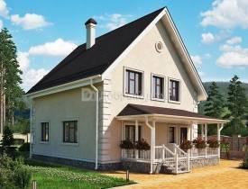 Дома 7 на 7: проекты и планировки одно- двухэтажных домов с мансардой, цены, фото