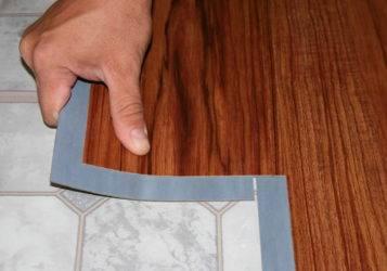 Укладка ламината на клей к полу: плюсы и минусы