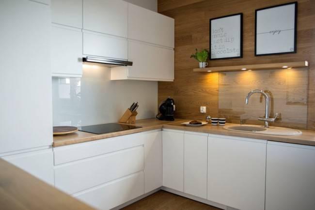 Стены на кухне - 105 фото лучших вариантов отделки стен в кухне