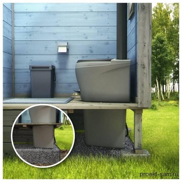 Построить туалет своими руками: чертежи, размеры