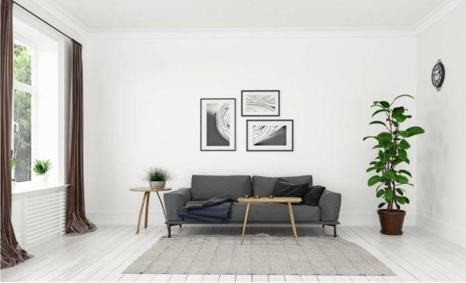 Декор стен в гостиной: фото и идеи оформления, чем украсить пустую стену, отделка декоративным камнем своими руками