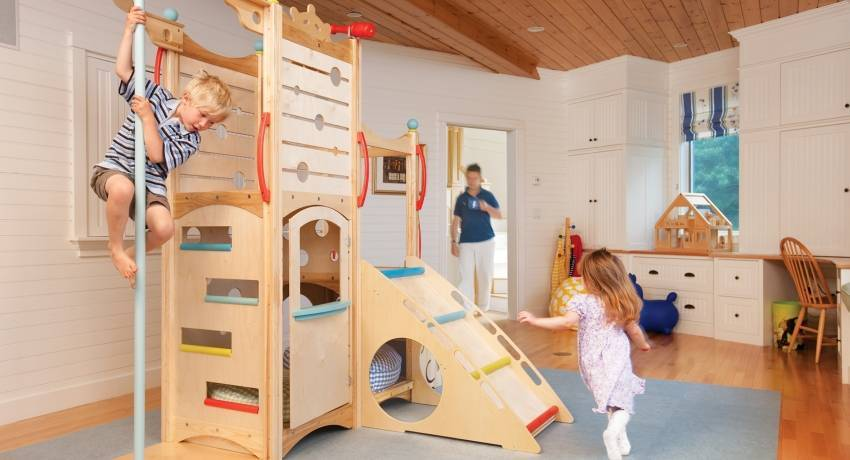 Шведская стенка для детей в квартиру: как выбрать и установить