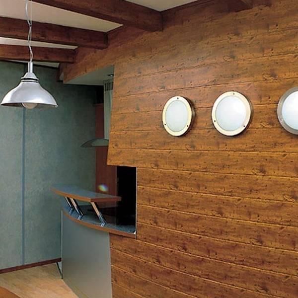 Декоративная штукатурка «под дерево» (31 фото): имитация древесных поверхностей внутри дома, фактурные покрытия с эффектом коры дерева на фасадных стенах, красивые примеры в интерьере