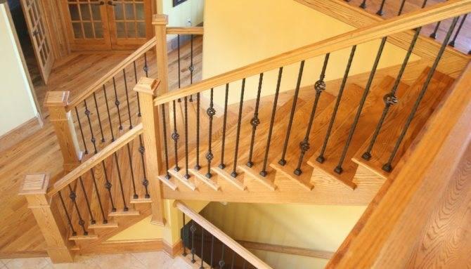 Перила и поручни (84 фото): лестничные ограждения маршей и опорные элементы для лестниц в частном доме, особенности расчета и производства