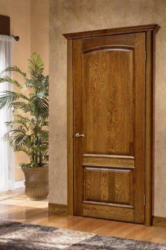 Межкомнатные двери из массива различных пород: плюсы, минусы, фото