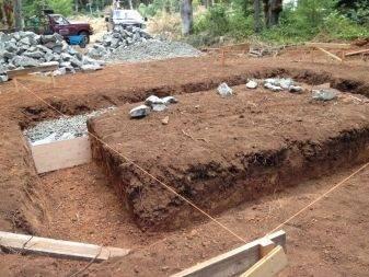 Фундамент из бутового камня: особенности кладки