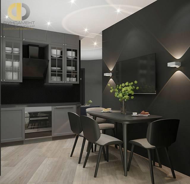 Дизайн кухни 9 кв. м: фото интерьера, расстановка мебели