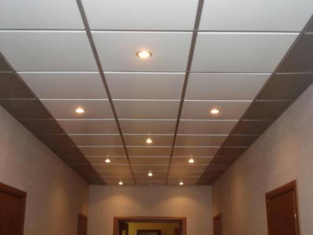 Подвесной потолок грильято - фотографии и порядок монтажа