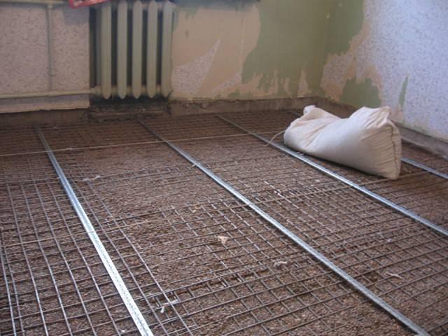 Армирующая сетка для стяжки, перекрытий, плит