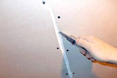 Чем и как заделать швы между листами гипсокартона своими руками
