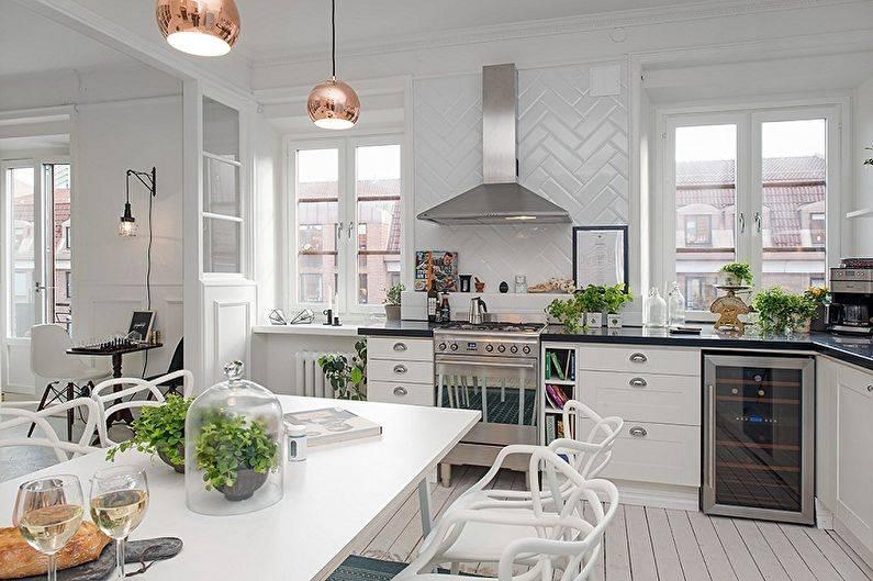 Кухня в скандинавском стиле: элегантная простота вашего интерьера
