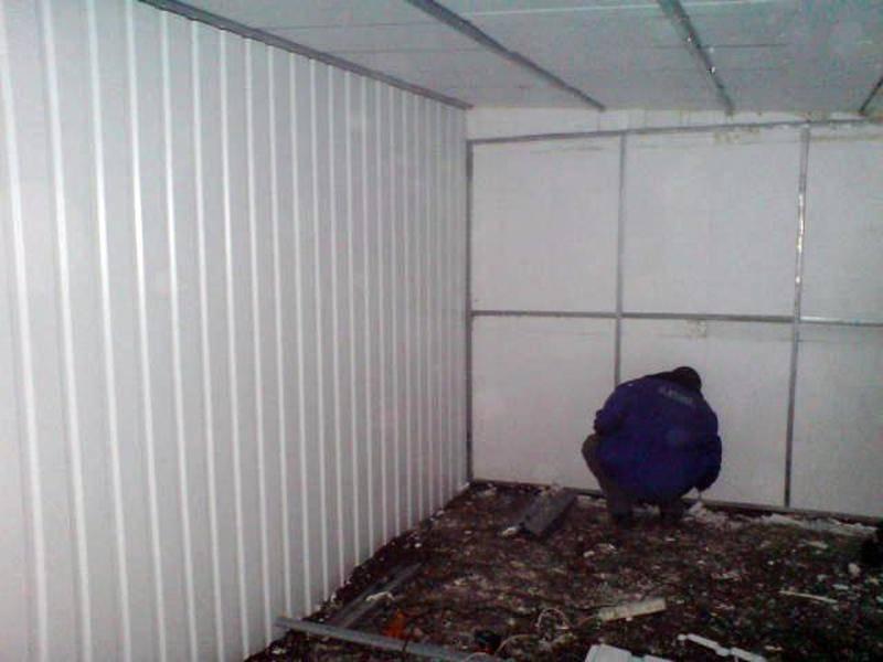 Самостоятельное утепление металлических гаражей