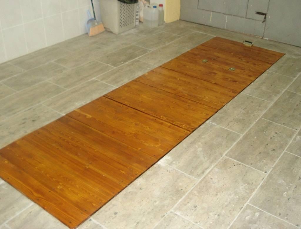 Пол в гараже своими руками: земляной, деревянный, бетонный