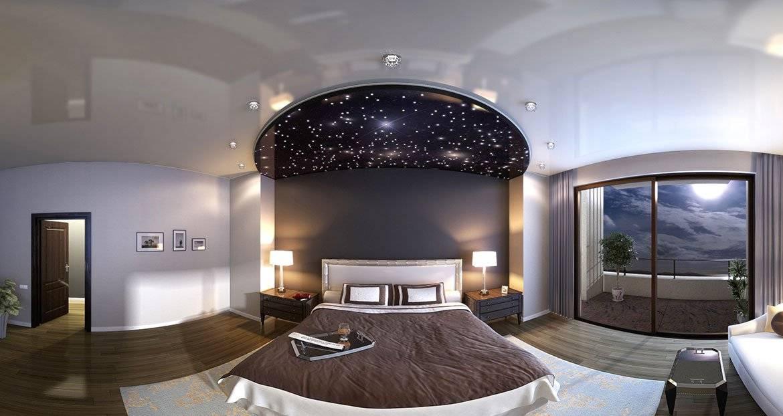 Натяжной потолок «звездное небо» (38 фото): потолочные покрытия в виде черного ночного неба со звездами, отзывы