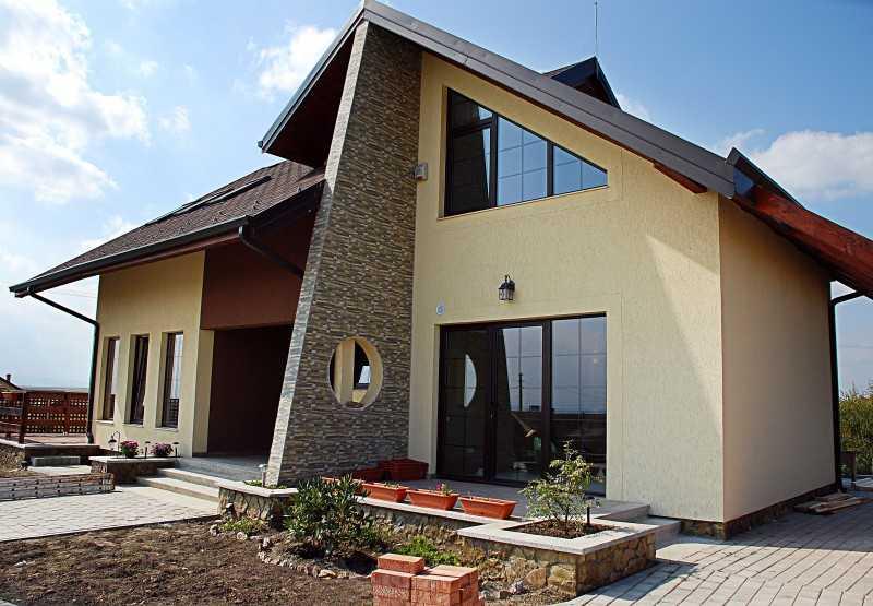 Фасад дома: лучшие варианты отделки и особенности создания стилей наружного дизайна (185 фото и видео)