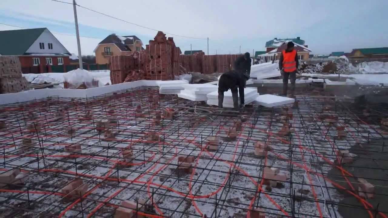 Можно ли лить бетон в мороз. заливка при минимальной температуре