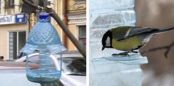 Кормушка для птиц из коробки: от обуви, сока, молока и конфет, подробные инструкции с фото