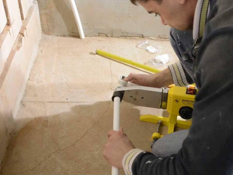 Монтаж полипропиленовых труб своими руками - трубы отопления, водопровода