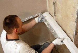 Как сделать ровный и прямой угол при штукатурке стен: Инструкция