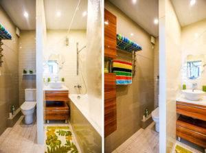 Перегородка для ванной: 145 фото зонирования стекляных и пластиковых