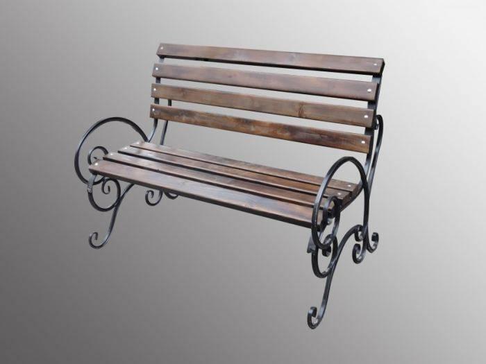 Лавочка своими руками - пошаговые инструкции и советы как построить самую простую садовую скамейку