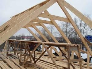 Вальмовая четырехскатная крыша - особенности