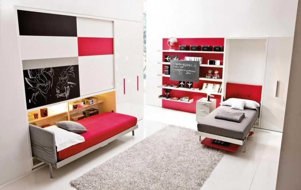 Двуспальная откидная кровать трансформер для малогабаритной квартиры: виды, преимущества, правила выбора - знать про все