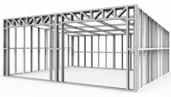 Изготовление металлических гаражей: типы конструкций и технология сборки