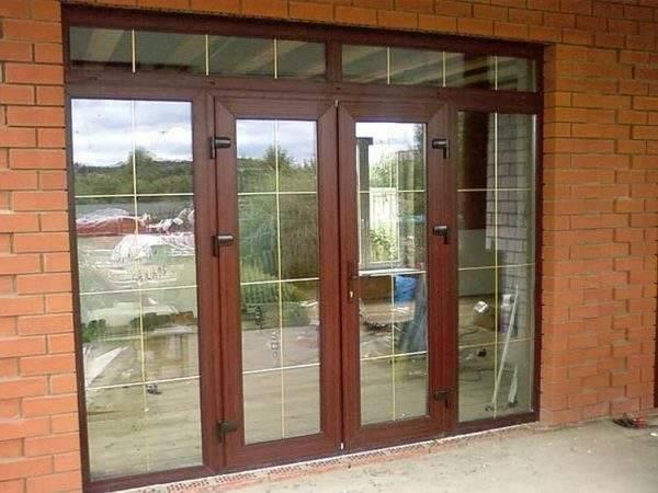 Входные стеклянные модели для частного дома, наружные варианты дверей из стеклокомпозита, пластиковые и алюминиевые профили на улицу