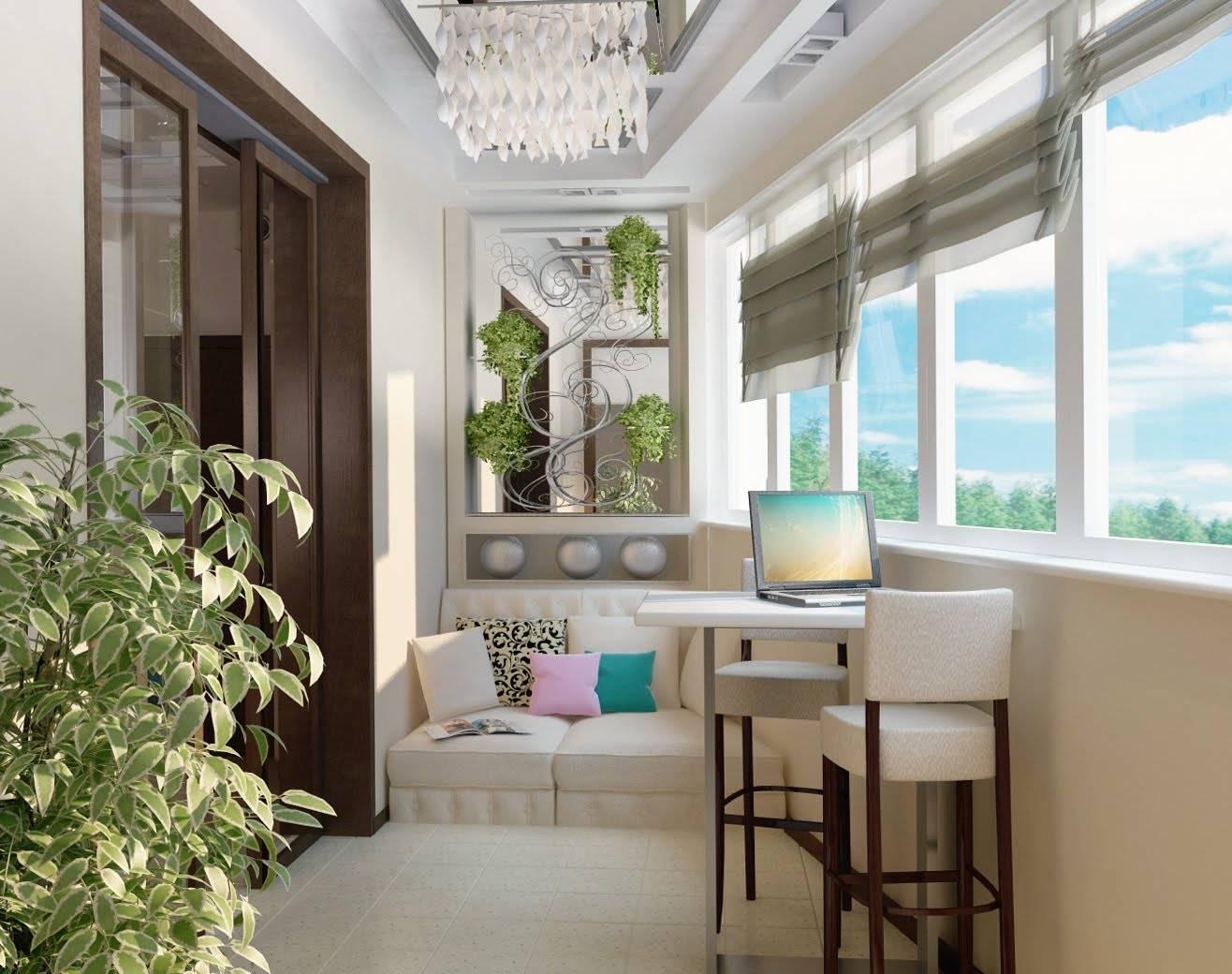 Французские балконы - дизайн (33 фото)