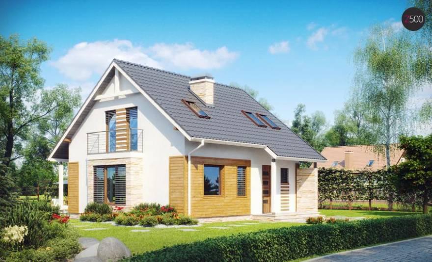Проекты частных домов прямоугольной формы. дом квадратный