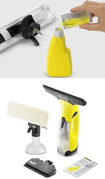 Керхер для мытья окон - принцип работы, правила эксплуатации