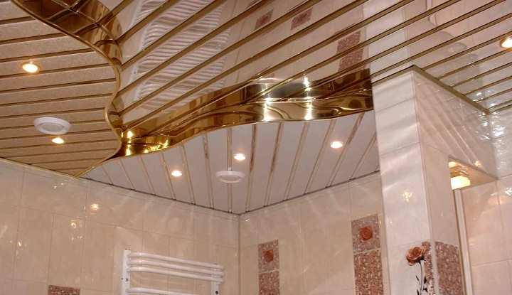 Как выполнить монтаж реечного потолка в ванной комнате самостоятельно: Обзор