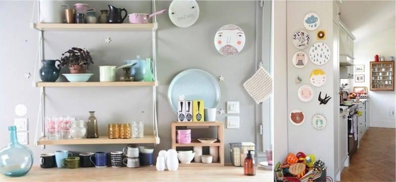 Декор кухни — непростые идеи на 80 фото