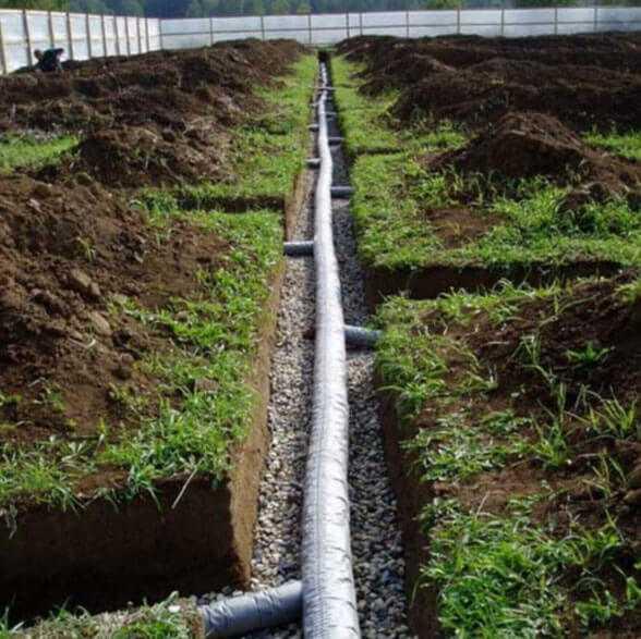 Дренаж дачного участка - все о канализации