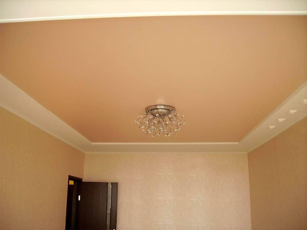 Какие натяжные потолки лучше: глянцевые, матовые или сатиновые?