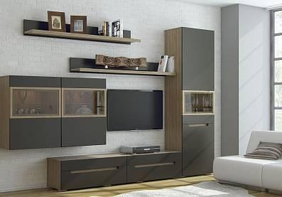 Угловые стенки в гостиную (80 фото): выбираем современные модульные стенки с платяным шкафом и мини-стенки в стиле классика
