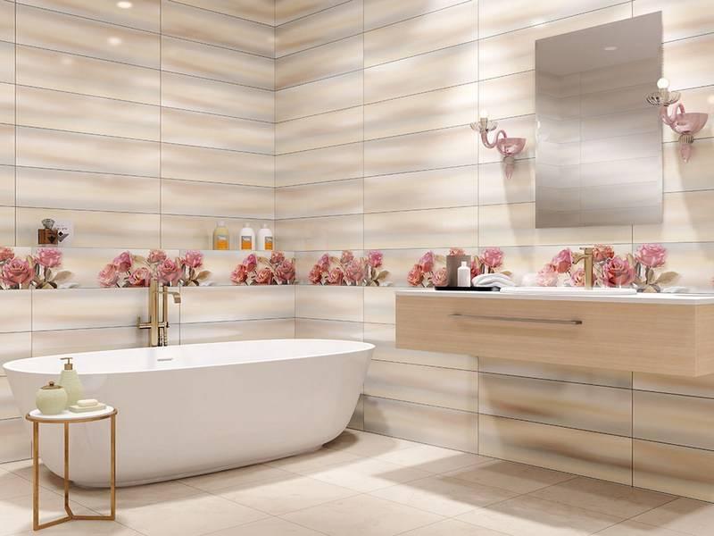 Инструкция, как выложить плитку в ванной — пошаговый мастер-класс для начинающих, способы и варианты применения плитки ( фото + видео)