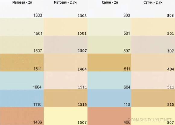 Палитра натяжных потолков — применение цветовых решений в интерьере