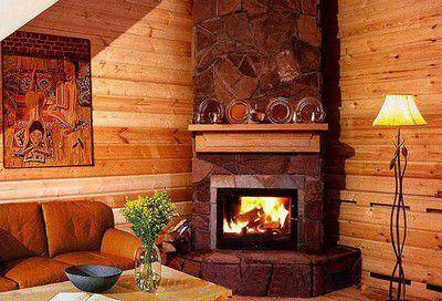 Угловая печь-камин (48 фото): дровяные модели для дачи бавария длительного горения