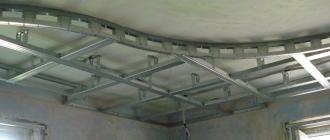 Как сделать красивый потолок из гипсокартона своими руками