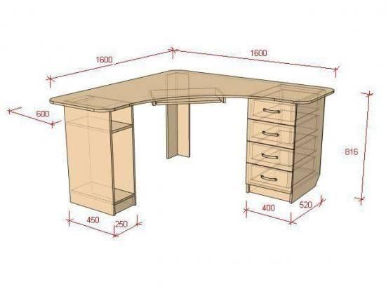 Сборка стола - 98 фото изготовления и монтажа компьютерного стола. пошаговая инструкция для начинающих!