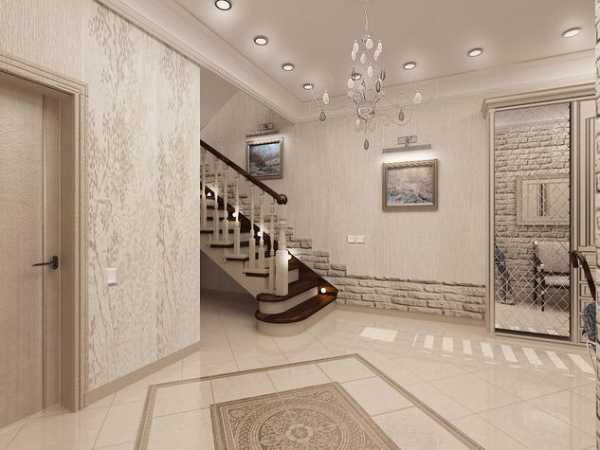 Дизайн прихожей в частном доме (104 фото): отделка и идеи оформления интерьера маленькой прихожей с лестницей 2021