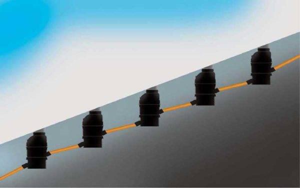 Уклон канализационной трубы на 1 метр: снип и угол уклона
